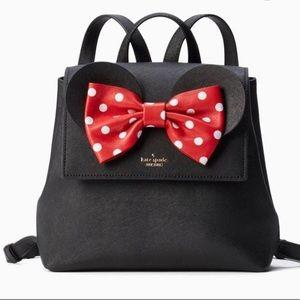 NWT!!!  Spade Minnie Disney Neema Backpack